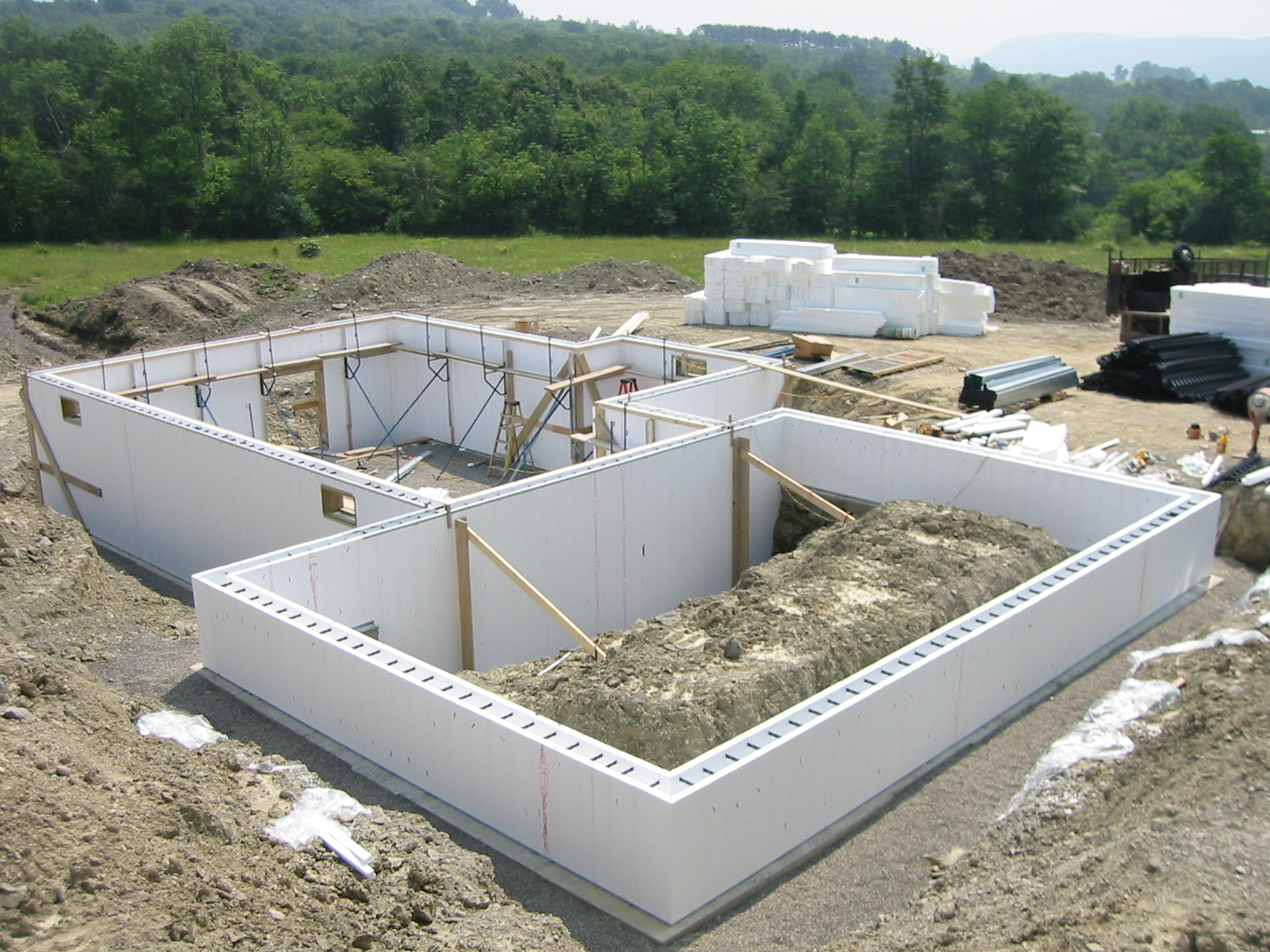 Developing our spiritual foundation for Building a basement foundation